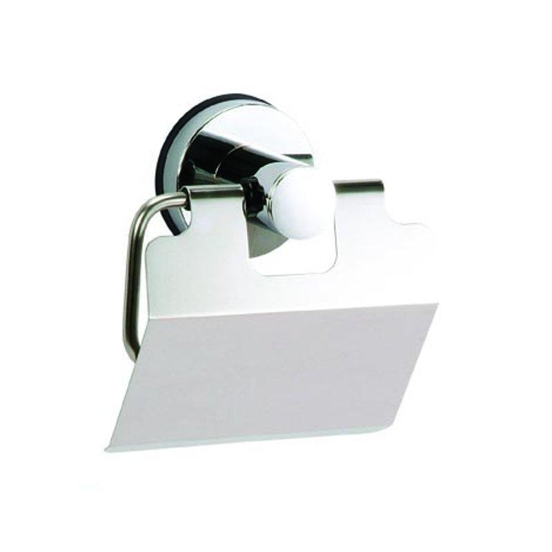 Portarotolo cromato a ventosa accessori bagno arredo bagno tutto per - Accessori bagno a ventosa ...