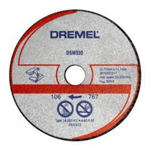 DSM510 DISCO TAGLIO METALLO DREMEL 3PZ