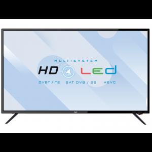 """TV LED MULTISYSTEM SAT HEVC 32"""" NERO TREVI"""