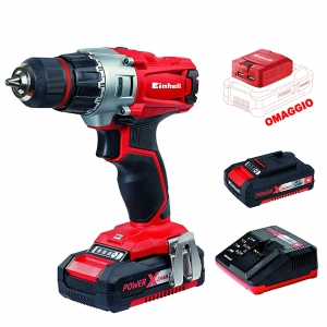 AVVITATORE EINHELL TE-CD 18/2Li KIT + SLOT USB