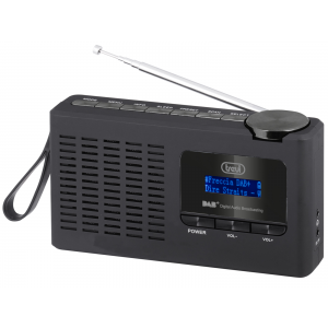 RADIO DIGITALE PORTATILE TREVI NERA DAB / DAB+ / FM TREVI DAB 7F94 R