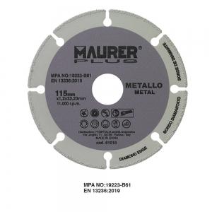 DISCO UNIVERSALE METALLO 115X1,2 MR