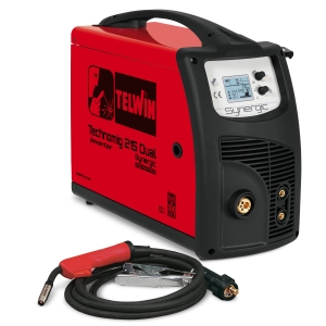 SALDATRICE INVERTER A FILO TELWIN TECHNOMIG 215 DUAL SYNERGIC