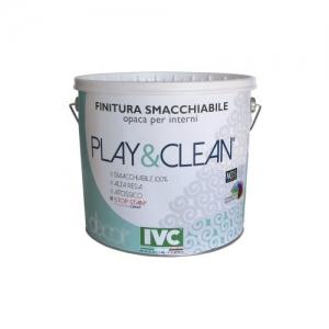 SUPERLAVABILE PLAY&CLEAN BIANCO LT 10