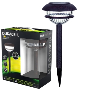 DURACELL LAMPA SOLARE LED ABS 4PZ 5 LUMEN