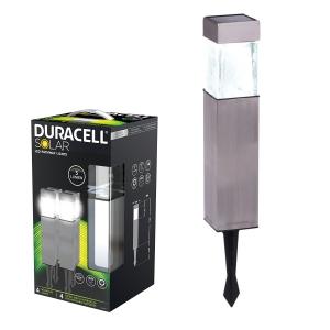 DURACELL LAMPA SOLARE LED SQUARE 4PZ 5 LUMEN