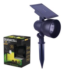DURACELL LAMPA SOLARE LED ORIENTABILE PUNTALE