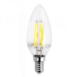 LAMPADA LED FILAMENTO VT-1986 OLIVA E14 4W
