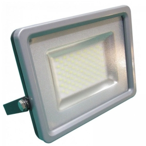 FARO LED NERO SLIM VT-48202 200W 6000K FREDDA