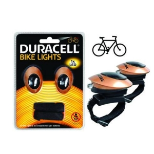 DURACELL LED ANTERIORE POSTE. BIKE M01