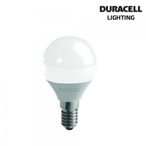 DURACELL LAMPADINA LED SFERA 6W E14 2700K