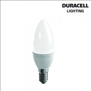 DURACELL LAMPADINA LED OLIVA 6W E14 2700K