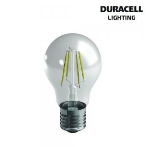 DURACELL LAMP. LED FILAMENTO GOCCIA 7W E27 2700K