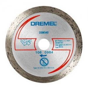 DSM540 DISCO TAGLIO PIASTRELLE DREMEL