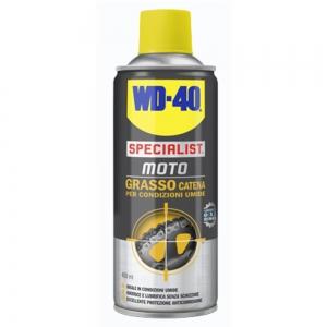 WD40 MOTO GRASSO CATENA UMIDE 400ML