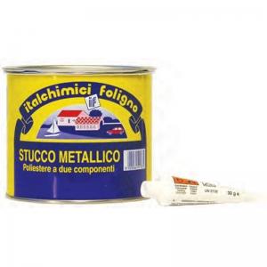 STUCCO METALLICO GRIGIO ML 500