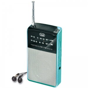 MINI RADIO TREVI PORTATILE AM/FM RA725 VERDE