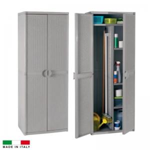 MOBILE RATTAN GRIGIO ALTO 65X45X172 P/SCOPE